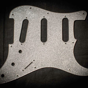 Di Renzo Scratchplate S-Style Black Sparkle